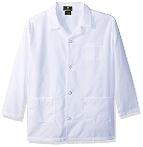M&M Scrubs Childrens Lab Coat-Soft Fabric (16/18) by Natural Uniforms