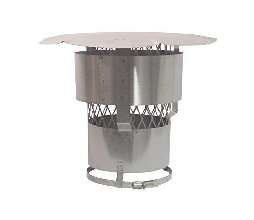 6 inch round chimney cap - 7