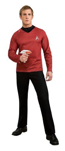 Star Trek Movie Deluxe Red Shirt, Adult XL Costume