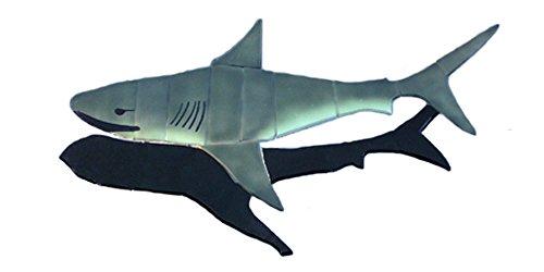 - Great White Shark Swimming Pool Mosaic