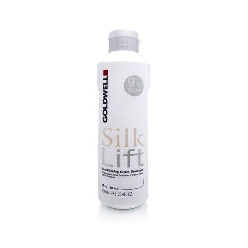 - Goldwell Silk Lift Conditioning Cream Developer 30 Volume 25.4oz