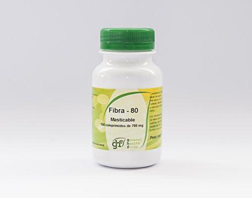 GHF - GHF Fibra-80 150 comprimidos masticables 700 mg: Amazon.es ...