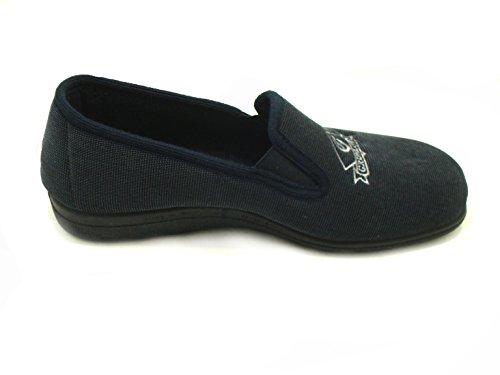 GRÜNLAND - Zapatillas de estar por casa de Material Sintético para hombre azul turquesa