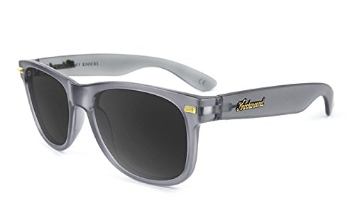 Knockaround Gafas de sol polarizadas no de golpes de Fort (Frosted Grey/Smoke): Amazon.es: Ropa y accesorios