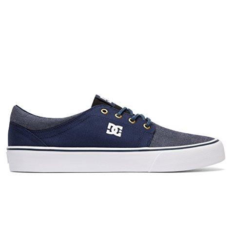 Dc Trase Tx Sexksk Herren Chaussures De Sport Bleu Marine / Or