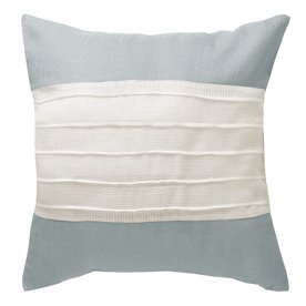 allen + roth 18-in W x 18-in L Blue Square Accent Pillow Cover (Allen Roth Covers)