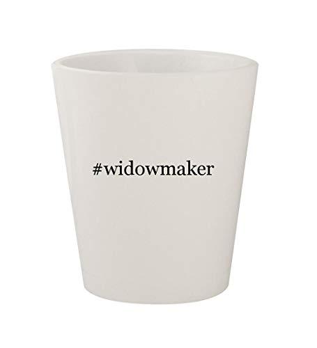 #widowmaker - Ceramic White Hashtag 1.5oz Shot Glass ()