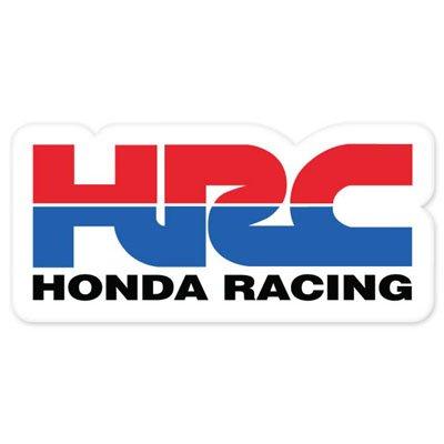 amazon com hrc honda racing morotcycle styling vynil car sticker rh amazon com honda racing logo svg honda racing logo stickers