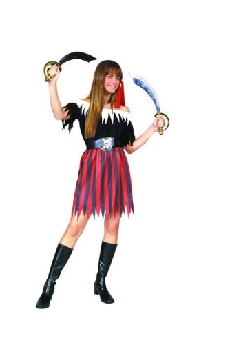 RG Costumes Pirate Girl Costume, (Pirate Costumes For Teen Girls)