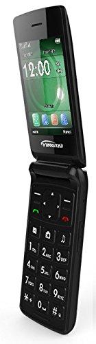 T/él/éphone 2G Portable Senior d/ébloqu/é /à clapet avec Grandes Touches Grand pour Les Personnes Ag/ées by YINGTAI T30