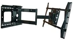 Full Motion Articulating TV Wall Mount Bracket for LG 42LM6200 3D LED TVCorner Friendly