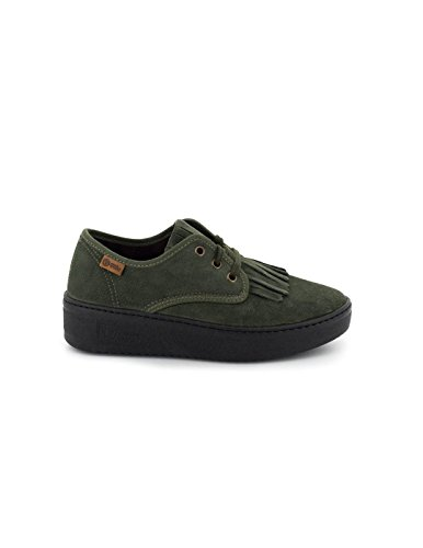Natural World Pelle World Blucher Blucher Natural Pelle Blucher Natural Verde World Verde AB8q1wWX