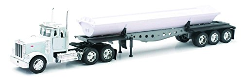 (NewRay 1:32 Scale, Peterbilt Model 379 Side Dump Truck, Diecast Model)