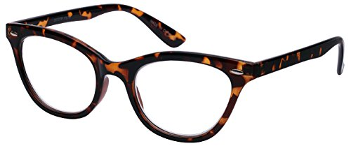 Edge I-Wear Lightweight Cat Eye Style Plastic Reading Glasses - Celebrities Glasses Wear
