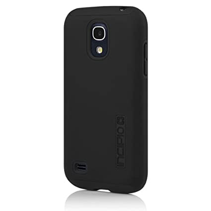 Incipio Samsung Galaxy S4 Mini Dualpro Case - Obsidian Black and Obsidian Black