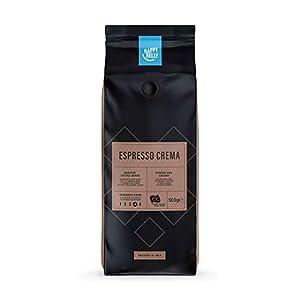 """Marchio Amazon - Happy Belly Chicchi di caffè tostati """"Espresso Crema"""" (12 x 500g)"""