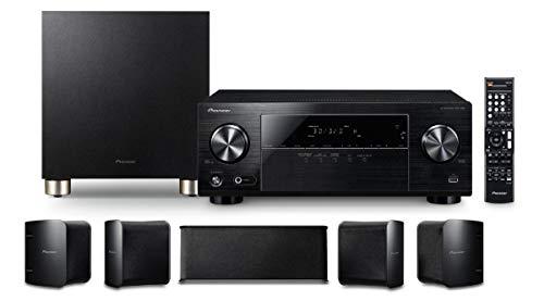 Pioneer 5.1 Home Theater System HTP-074 5.1 Channel AV Receiver with Bluetooth