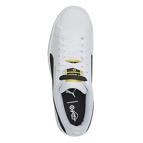 sports shoes e70c0 2a9a0 PUMA X BTS Basket Patent Shoes Bangtanboys Collaboration 36827801 White by  Puma
