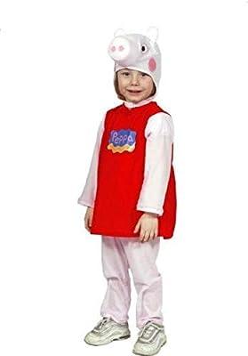 giocoplast - Disfraz de Peppa Pig Original 2-3 años para niño ...