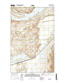 Amazon.com : Bowdoin, Montana topo map by East View ...