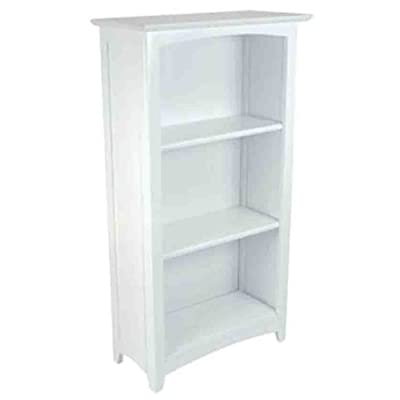 KidKraft Avalon Tall Bookshelf - White: Toys & Games