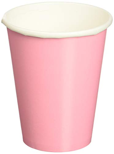 Paper Cups Hot and Cold Beverage Drink Birthday Party Disposable Drinkware, 20 Pieces, Made from Paper, New Pink, 9 oz by Amscan for $<!--$6.67-->