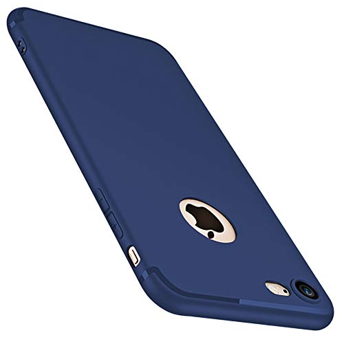 CaseHQ iPhone 6 Case, iPhone 6S Case, [Ultra-Thin] & [Soft touch] Premium Slim Fit TPU rubber Protect Cover for iPhone 6/6s 4.7 inch (Blue) (Cases 5 Sophie Ipod)