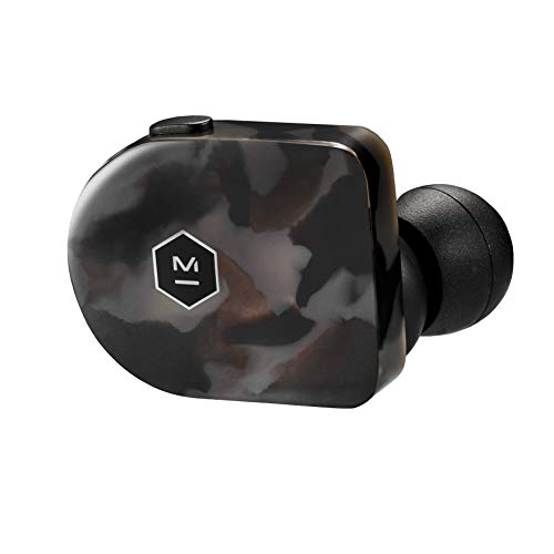 Master & Dynamic MW07 True Wireless Earphones with Best-in-Class Bluetooth 4.2 Connectivity and 10mm Beryllium Drivers for Unmatched Sound in a Wireless Earbud, Grey Terrazzo