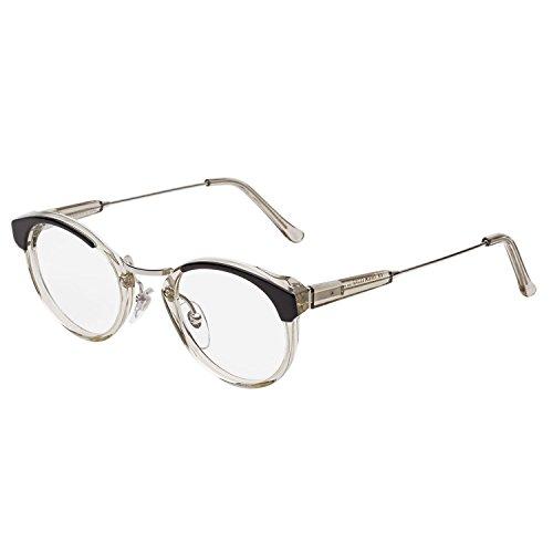 RETROSUPERFUTURE Panama Eyeglasses 955 Repertoire Black Crystal / RX Clear - Prescription How Get To Eyeglass