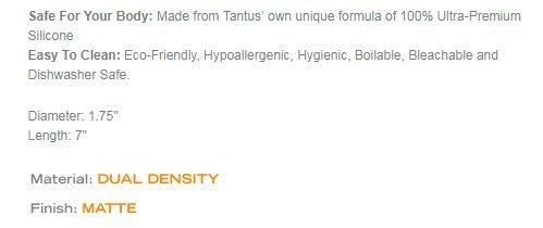 Tantus Cush - Ultra-Premium Silicone Dildo - Candy