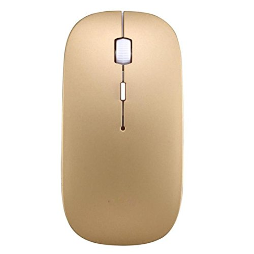WeiYun Modern 2400 DPI 4 Button Portable Optical - Wireless Mouse Tray
