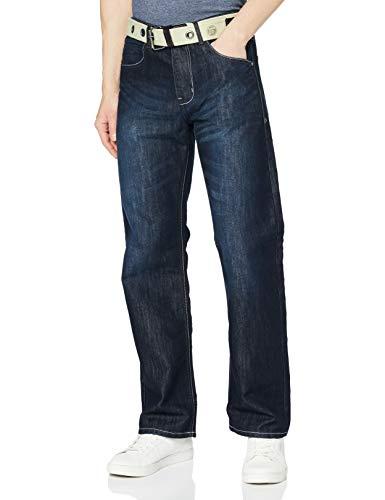 Enzo Herren EZ14 Jeans, Darkwash 14, 32W / 32L