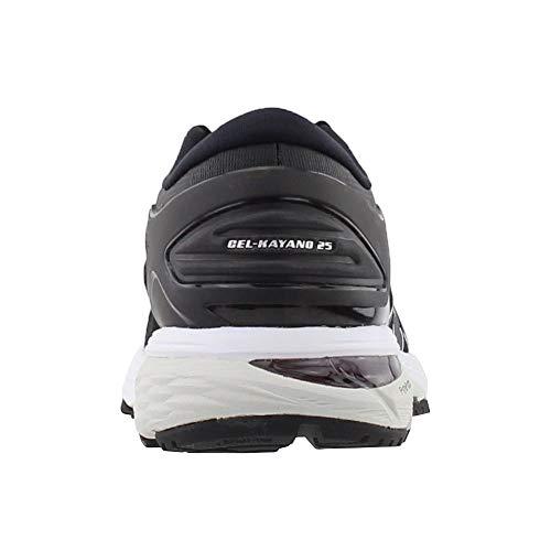 ASICS Gel-Kayano 25 Women's Shoe, Black/Glacier Grey, 6 B US by ASICS (Image #2)
