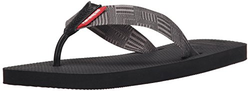 Havaianas Men's Flip Flop Sandals, Urban Series ,Black,45/46 BR (13 M US)