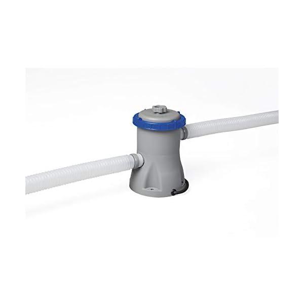 Bestway 56416 | Steel Pro MAX - Piscina Fuori Terra Rotonda, 366X76 cm, Pompa di Filtraggio Inclusa 3 spesavip