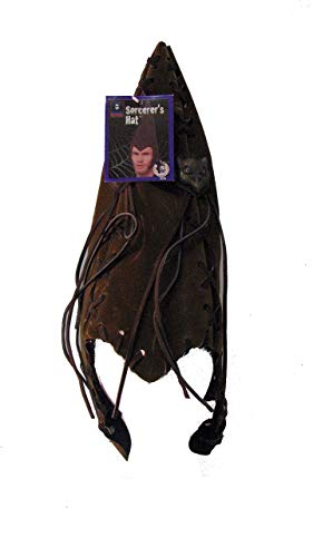 Halloween Resources Sorcerer's Brown Faux Suede -