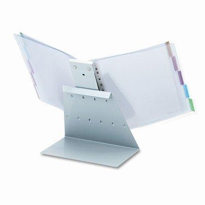Durableamp;reg; - VARIO Reference Desktop System, 10 Panels - Sold As 1 Each - Metal desk stand and panel holder.