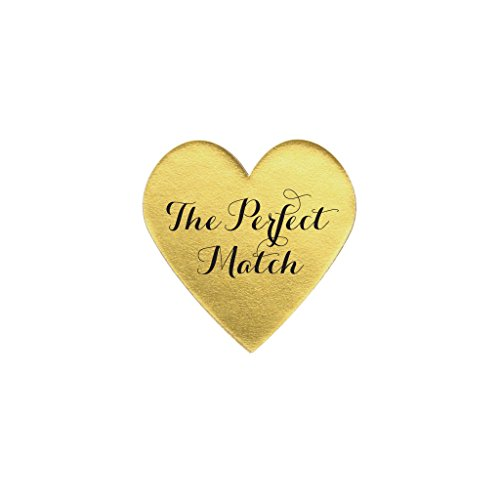 Perfect match labels, Perfect match tags, Perfect match favor, Perfect match matchbooks, Perfect match favor tags, Metallic // set of (Match Stationery Books)