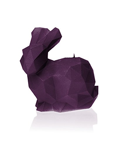 Candellana Candles 5902650678545 Rabbit Candellana- Giant Rabbit Candle-Violet,Violet,Large