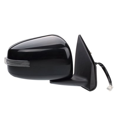- Fitrite AutoParts New Right Passenger Side Power Door Mirror for 2015 Mitsubishi Lancer with Heated Glass, with Turn Signal, Includes Evolution Modles, Paint to Match MI1321144