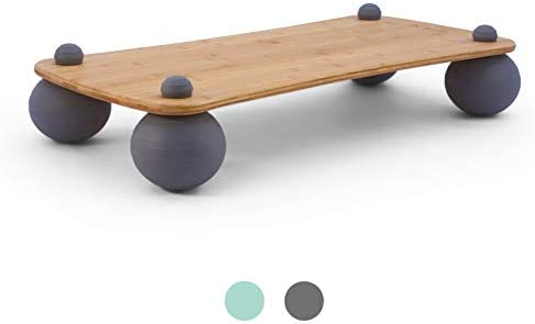 Pono Board – Core Activating Level Motion Balance Board for Standing Desks and Exercise