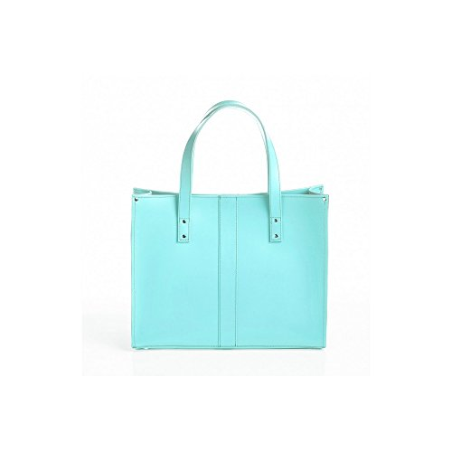 Zatchels - Belvoir - Borsa Shopper in pelle Fatta a Mano - Donna Lilla
