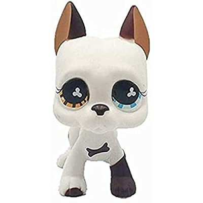Wooer Cute Animal Pet Dog Collection Child Girl Dog Figure Toy: Grocery & Gourmet Food