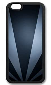 Abstract Fan Like Customized Rubber Black iphone 6 Case By Custom Service Your Great Choice