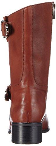 Giudecca JY1510-1 - botas de cuero mujer marrón - Braun (Red Brown)