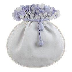 (silk bag - cut flowers- blue)