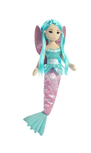 Plush Doll Fairy (Aurora World Sea Sparkles Fairy Mermaid Shellina Plush)