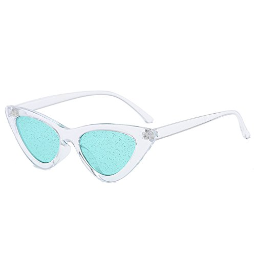Verde Para Verde De Sol Color Gafas Sol Mujeres De Tonalidades claro 90 De KLXEB Bastidor Mujeres Brillantes De Gafas Uv400 Lente wZqfHUCH