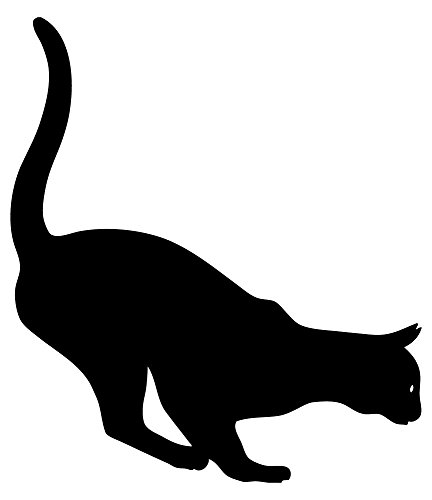 [Wallmonkeys WM108173 Cat Kitten Peel and Stick Wall Decals (12 in H x 10 in W)] (Cute Halloween Names For Kittens)