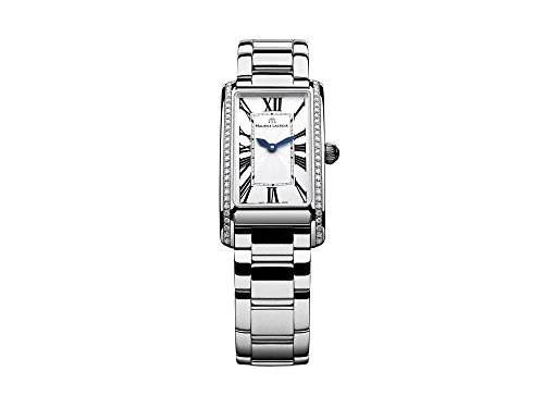 Maurice Lacroix Fiaba Ladies Rectangular Quartz watch, Silver,FA2164-SD532-118-1